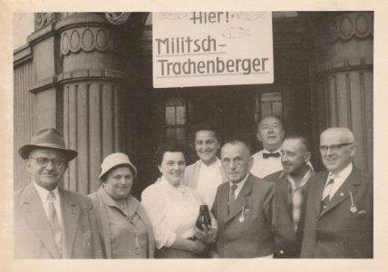 Gruppe Kraschnitzer in Springe 1960