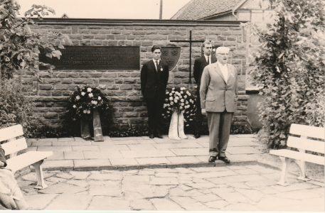 Ehrung der Toten 1964 in Springe