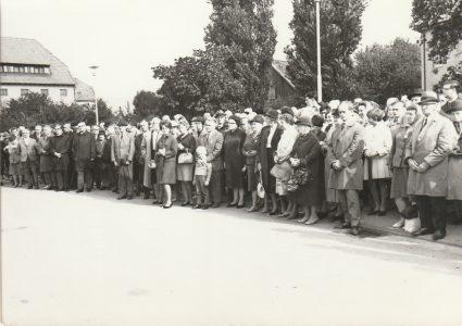 Kranzniederlegung 1967 in Springe