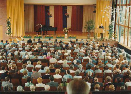 Bühne des Otto-Hahn-Gymnasium 1976 in Springe